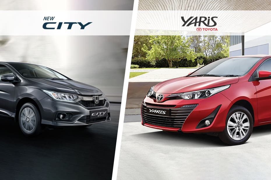 toyota yaris trd vs honda jazz rs perbedaan new g dan city spec comparison cardekho com the has been launched at 8 75 lakh ex showroom india with this enters a hotly contested segment comprising likes of
