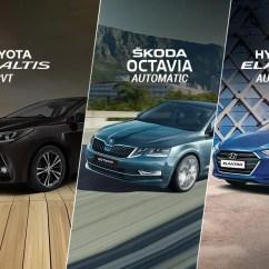 New Corolla Altis Vs Skoda Octavia All Yaris Trd 2016 Toyota Cvt Hyundai Elantra Automatic