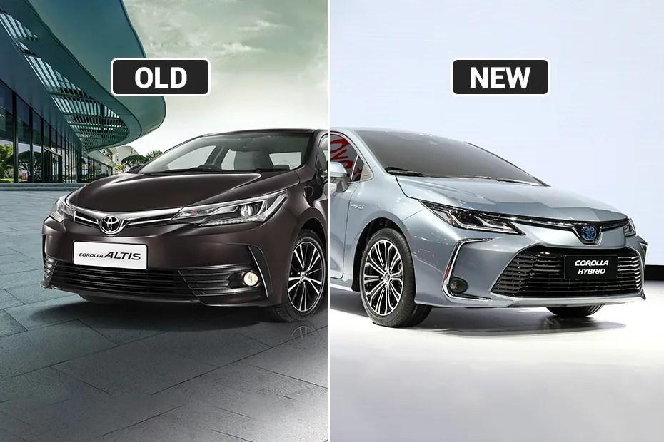 all new corolla altis 2019 toyota kijang innova v luxury vs india spec exterior interior changes