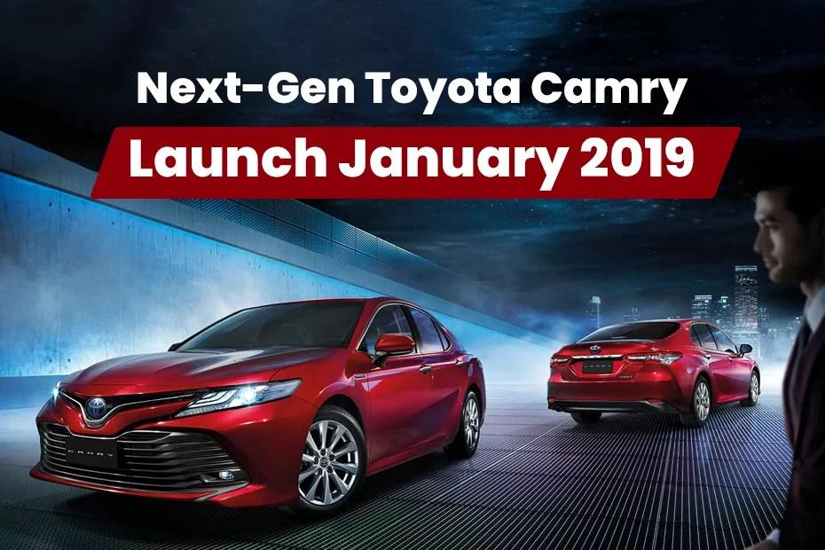 all new camry india launch modifikasi grand veloz 2017 toyota in mid january 2019 cardekho com hybrid
