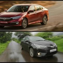 All New Corolla Altis Vs Civic Kijang Innova Tipe G Honda 2019 Toyota In Pics Cardekho Com