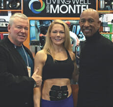 Chris Garvey and Montel Williams