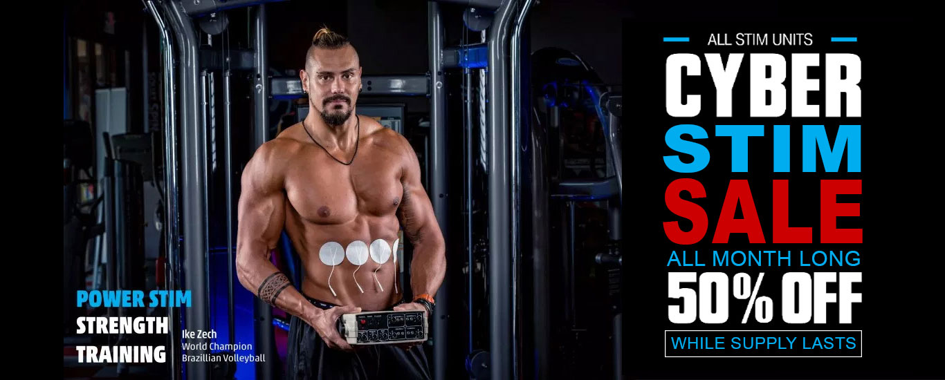 Power Stim- powerful Russian stimulator for active muscle recovery