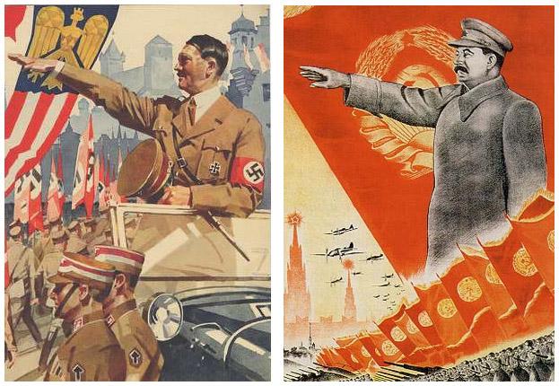 Adolf Hitler & Joseph Stalin