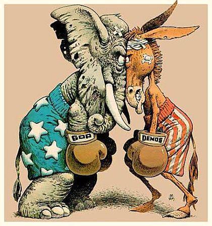 Political Partisan Battle