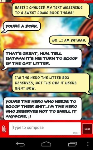 Nobody talks to Batman like that.