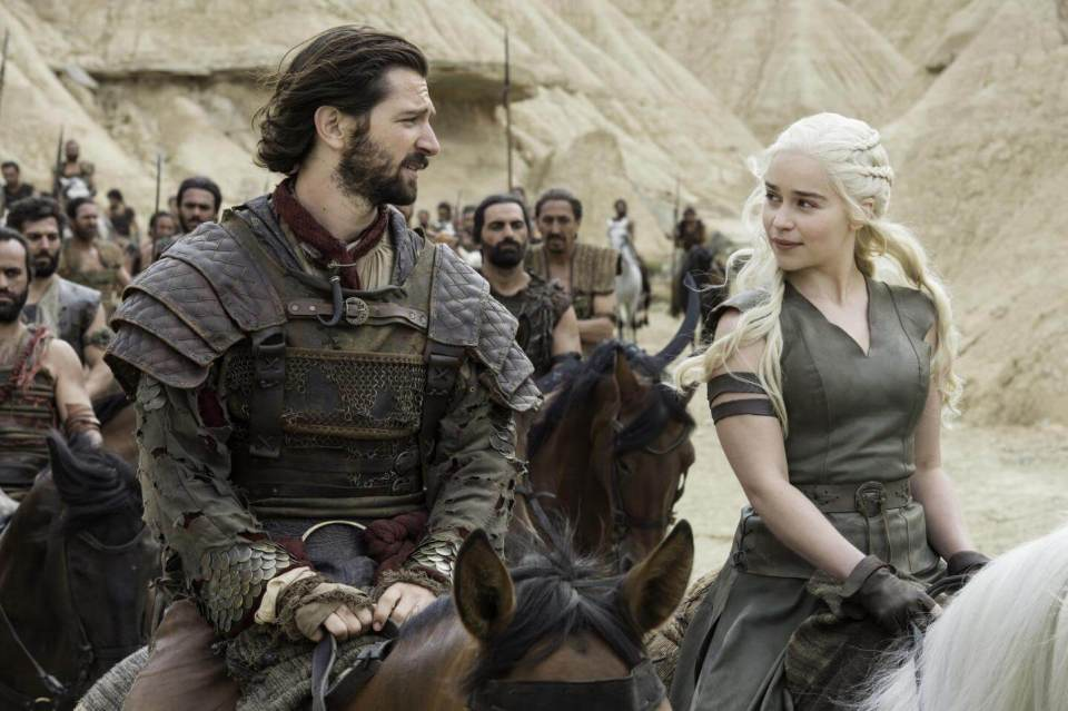 The Khaleesi and Mother of Dragons rallies her troops for war in 'Blood of My Blood.'
