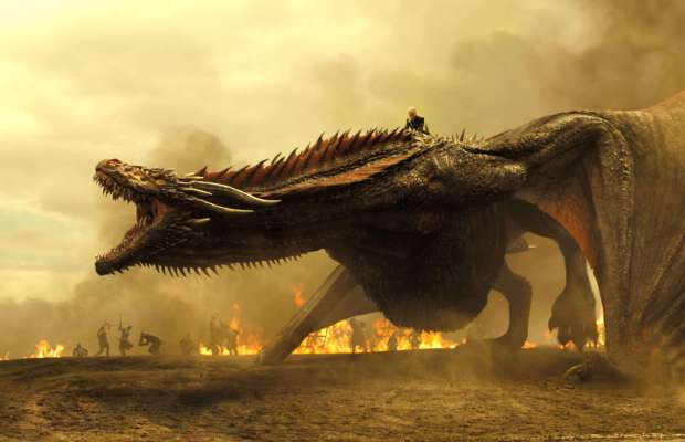 Game of Thrones Spoils of War Drogon the Dragon