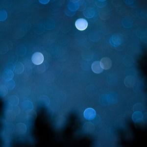 A full bokeh of stars in northern Minnesota.