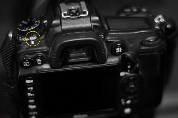 Mirror Lock-Up shown on a Nikon D7000 - refer to your manual