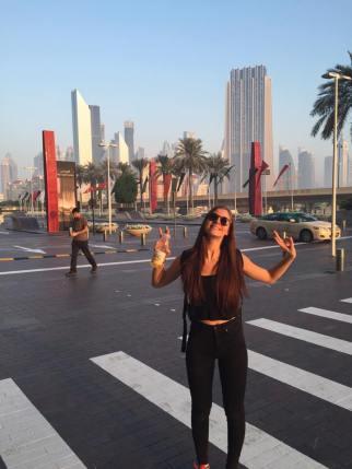 På resa i Dubai