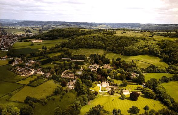 Aerial View of Street Farm