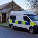 Mobile Speed Camera outside the Village Hall