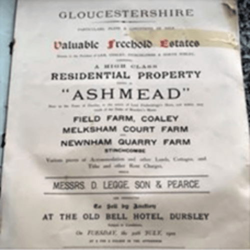 For Sale Notice