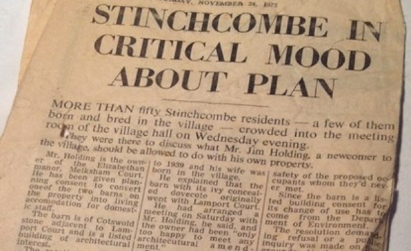 Article from the Gazette 1973