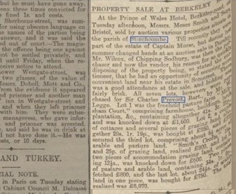 Gloucester Citizen 13 November 1901