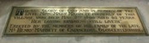 Mabbett Inscription