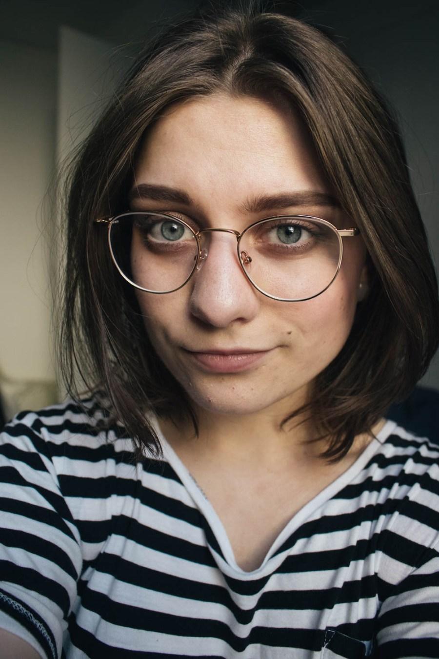 Har nye briller fra Frank Walton, og de er skikkelig fine