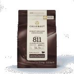 2,5kg. Callebaut chokolade nr. 811 54,5% mørk.