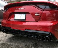 exhaust tips kia stinger forum