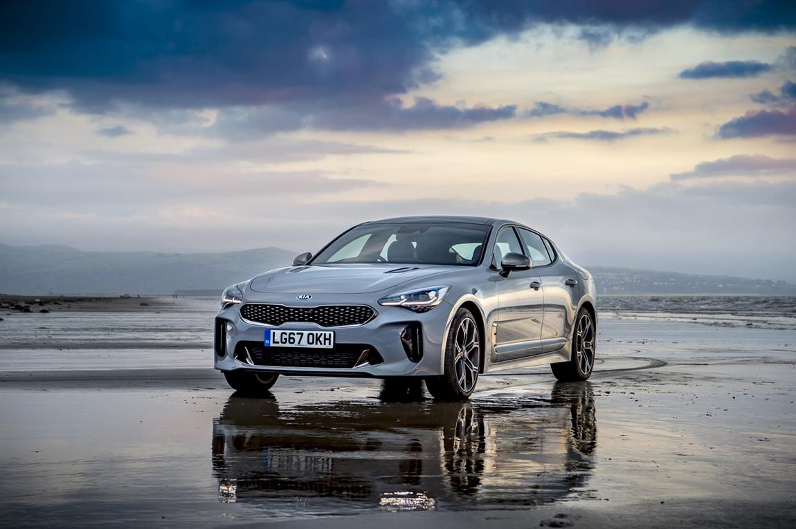 Kia Stinger GTS in Grey