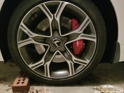 loden wheel caps kia stinger gt