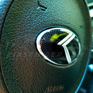 vintage k steering wheel emblem by loden