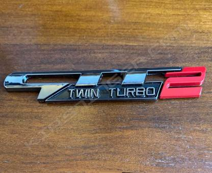 gtt2 badge gunmetal with red 2