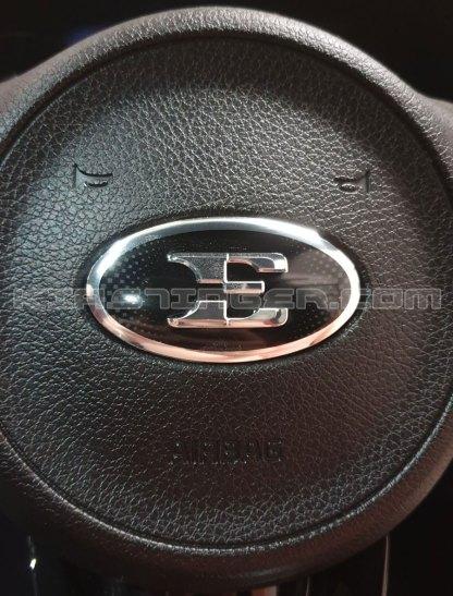 e steering wheel emblem for kia stinger