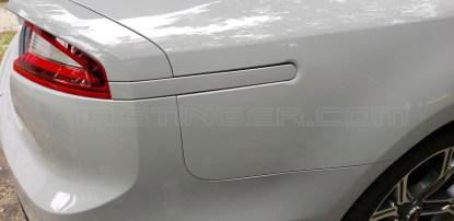 painted rear side reflectors kia-stinger ceramic silver