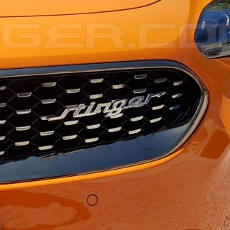 kia stinger accent emblem badge