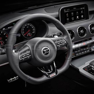 d-cut steering wheel for kia stinger