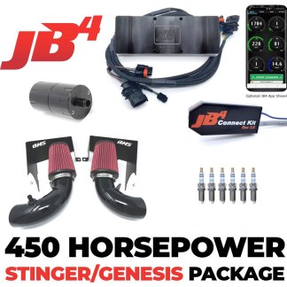 jb4 power pack for kia stinger by burger motorsports