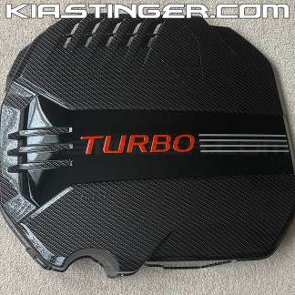 kia stinger carbon fiber engine cover