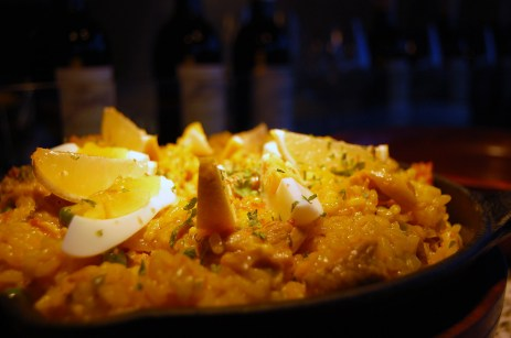 Paella Valenciana, Tomar Tapas and Wine Bar