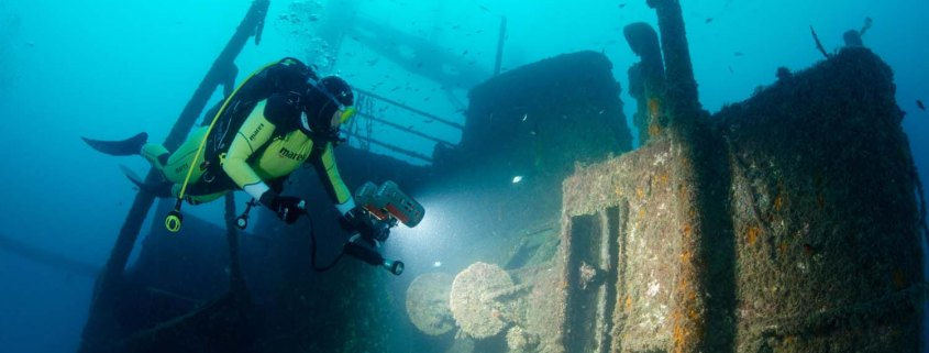 Stingray Divers - Wracktauchen Peltastis, Kroatien