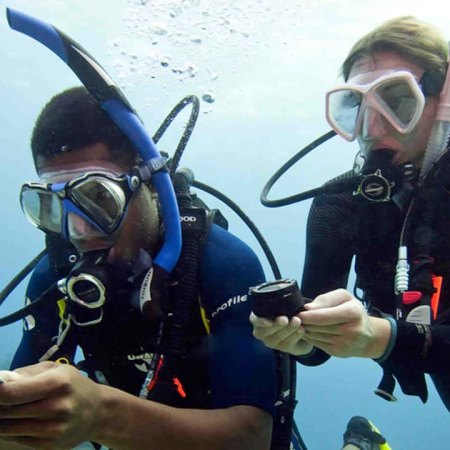 Stingray Divers - PADI UW-Navigation