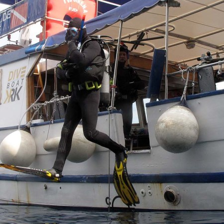 Stingray Divers - PADI Spezialkurs Bootstauchen