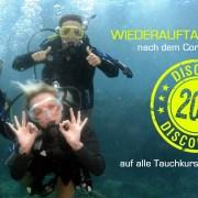 Stingray Divers - Wiederauftauch-Angebot