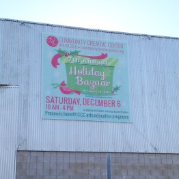 10'x10' Banner on the build