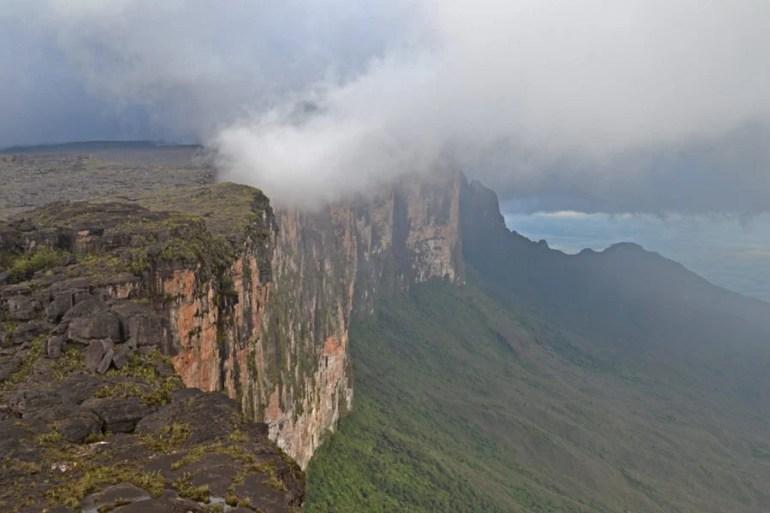 Roraima, photo taken from The Miradora