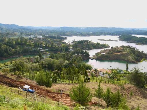 View from El Penon, Guatape