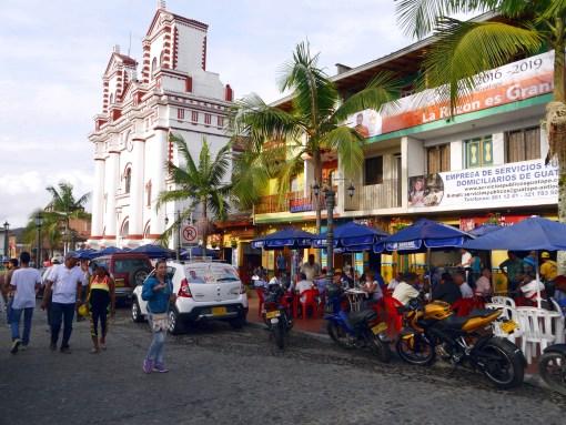 Main square, Guatape