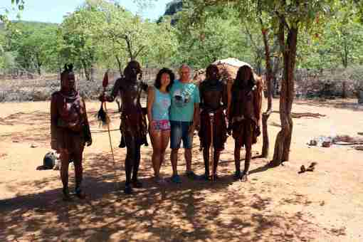 We with Himba tribe, Opuwa, Namibia