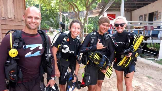 Dive time at Anti-gravity divers!