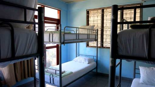 Our dorm at Kampung Bule hostel, Labuan Bajo