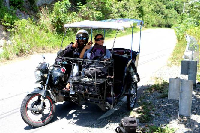 Tuk tuk ride, Pulau Weh