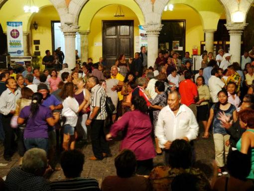 Fiesta on the streets of Merida