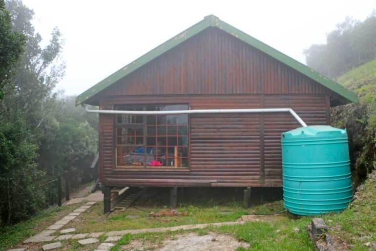 An overnight hut on the Amatola Trail