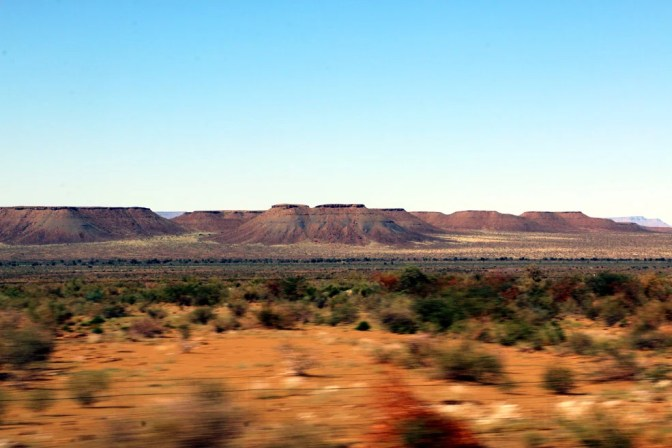 Beautiful scenery of Southern Namibia. One month itinerary for Namibia